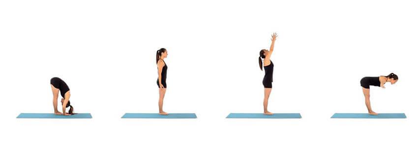 Öne eğilme yoga hareketi